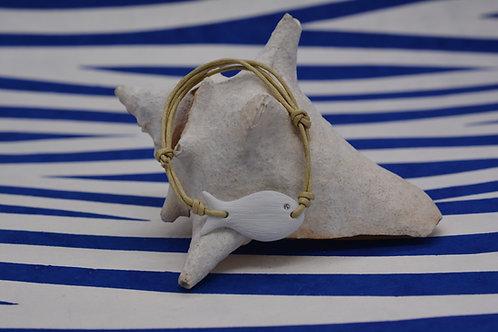Bracelet Poisson céramique