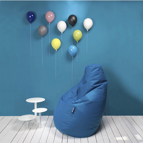 Ballon décoratif bleu