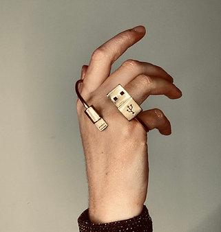 """Bracelet """"Connect moi"""""""