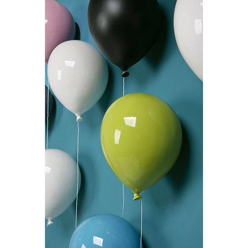 Ballon décoratif jaune