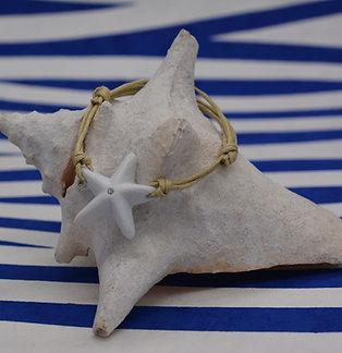 Bracelet Etoile de Mer céramique