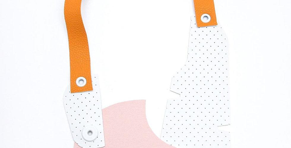 Plumeria statement necklace