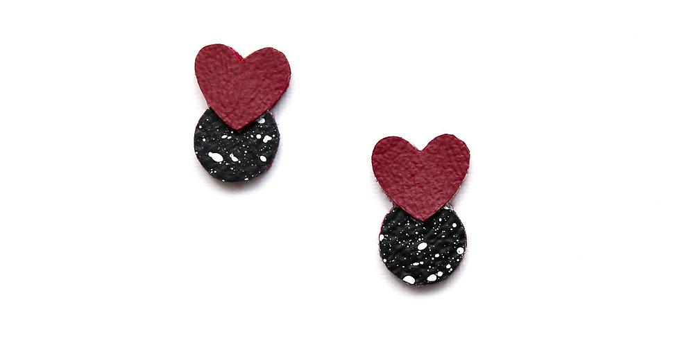 Love Pollock studs earrings