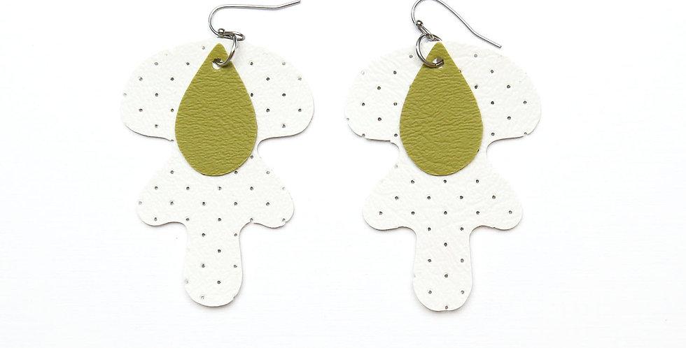Nature earrings waterproof
