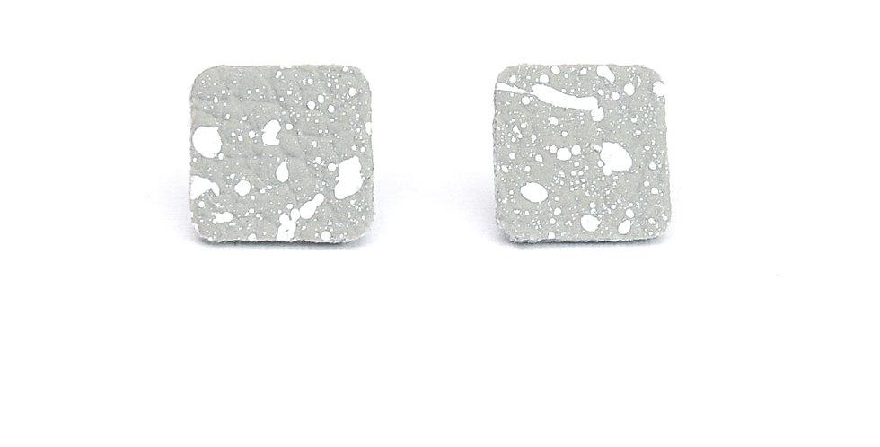 Splatters studs earrings