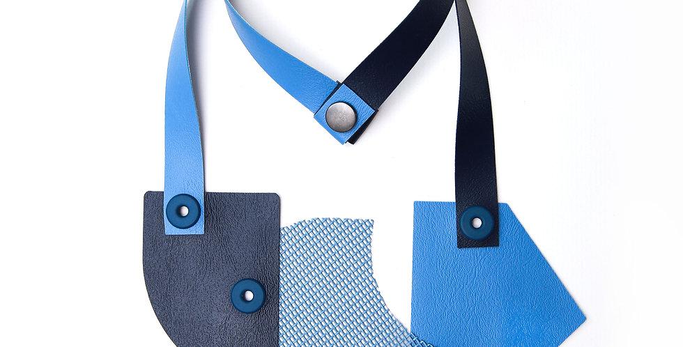 Blue monochromatic necklace