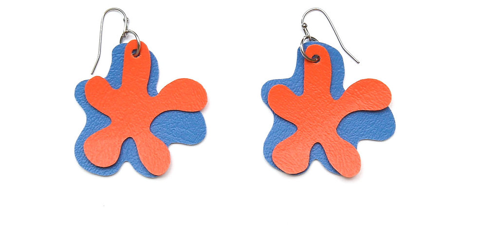 Splashes waterproof earrings