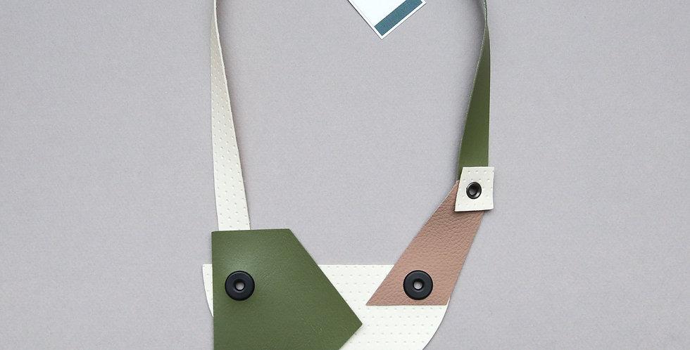 Asymmetric statement necklace