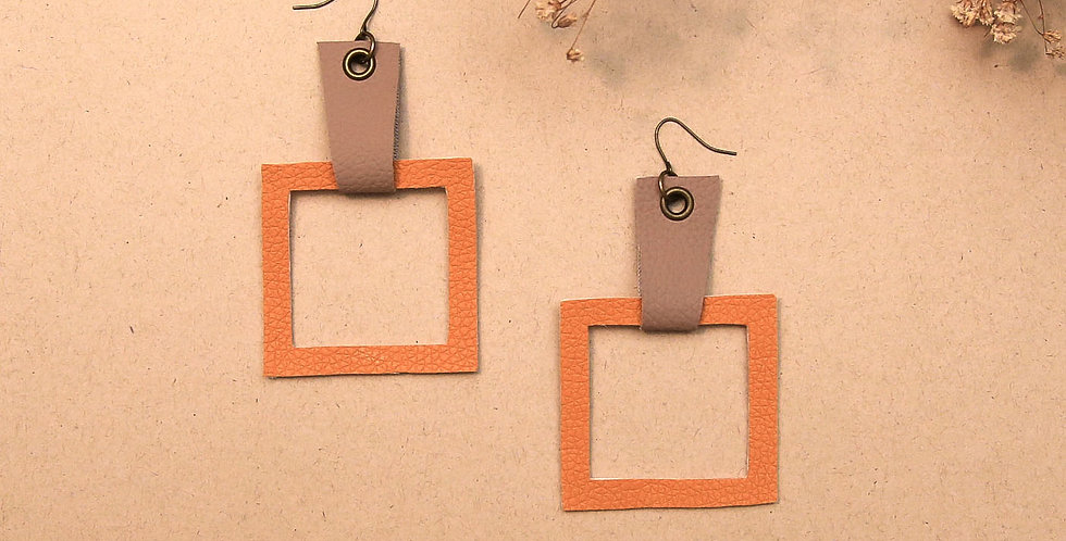 Fall Geometric Earrings