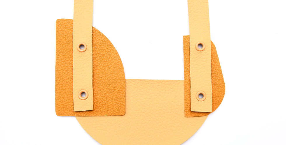 Yellow monochromatic necklace