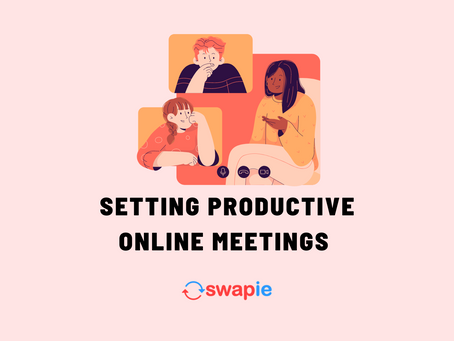 Setting Productive Online Meetings