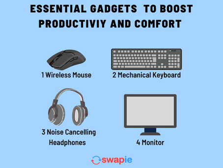 Essential Gadgets to Boost Productivity and Comfort