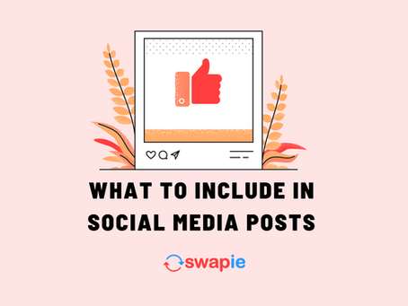What to Include in Social Media Posts