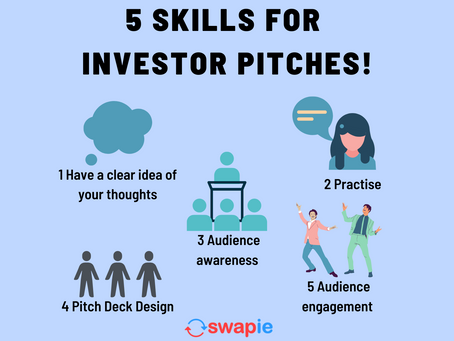 5 Skills for Investor Pitches!