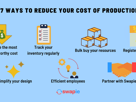 7 Ways to Reduce Your Cost of Production