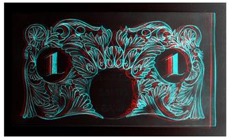 Original 1 Note 3D Inverted