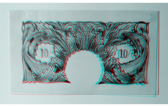 Original 10 Shilling Note 3D