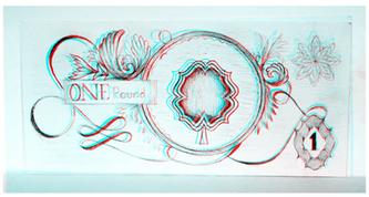 Original 1 Pound Note 3D