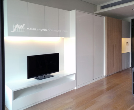 Compact studio design