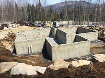 Fondation de béton