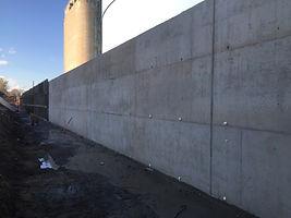 mur de béton armé