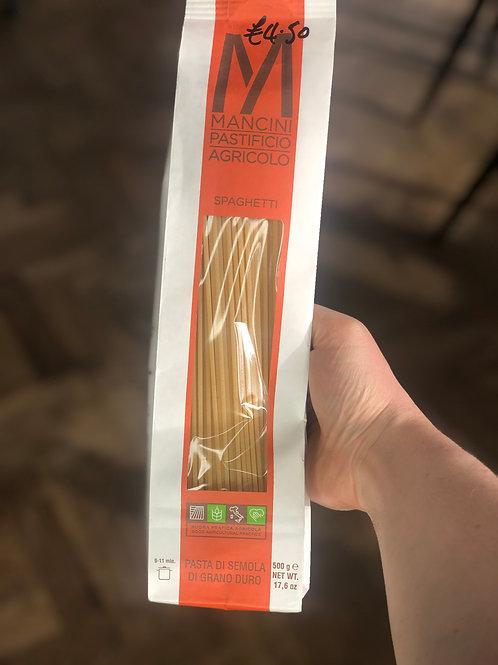 Mancini pasta spaghetti