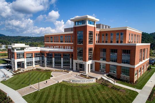 Appalachian Health Science Building_exte