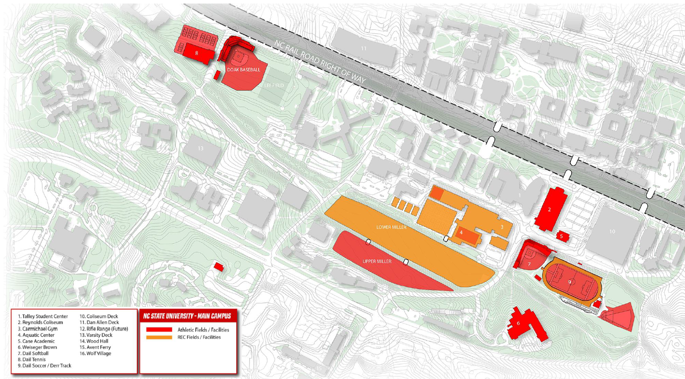 NCSU Athletics Master Plan