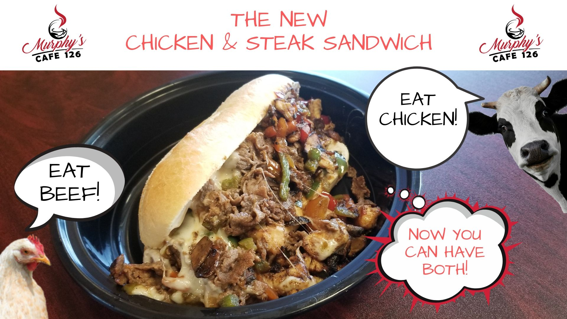 Chicken & Steak Sandwich