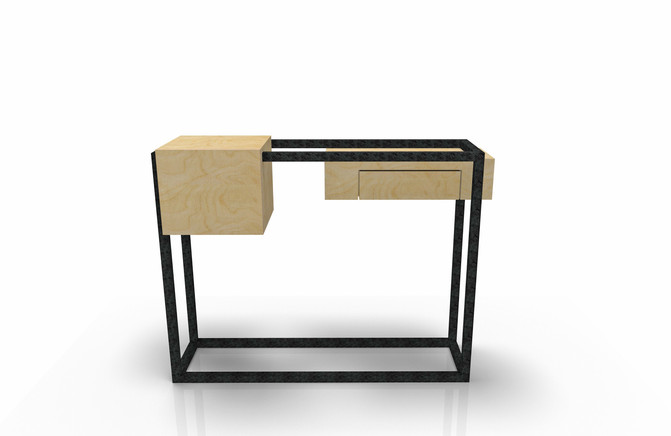 Console W&S design by Fred Hernandez pour Hashtag Design Paris