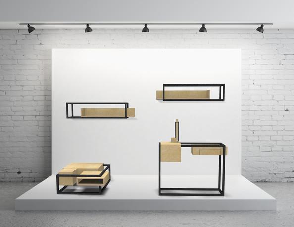 Ligne W&S by Fred H pour Hashtag Design
