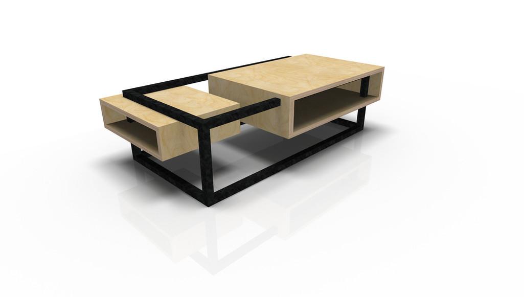 Table Basse Rectangulaire design by Fred Hernandez pour  #designparis