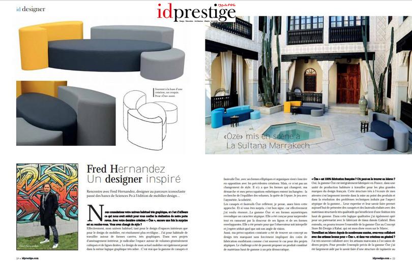 Interview Fred Hernandez Id Prestige Maroc