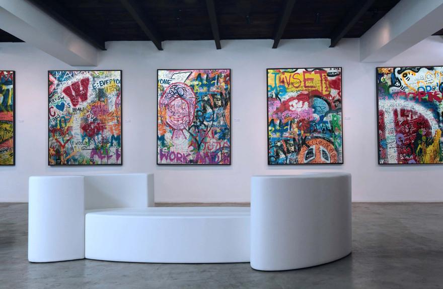 Confident Ôze Gallery by Fred Hernandez  Hashtag Design Paris