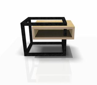Table de Chevet W&S design by Fred Hernandez pour  #designparis