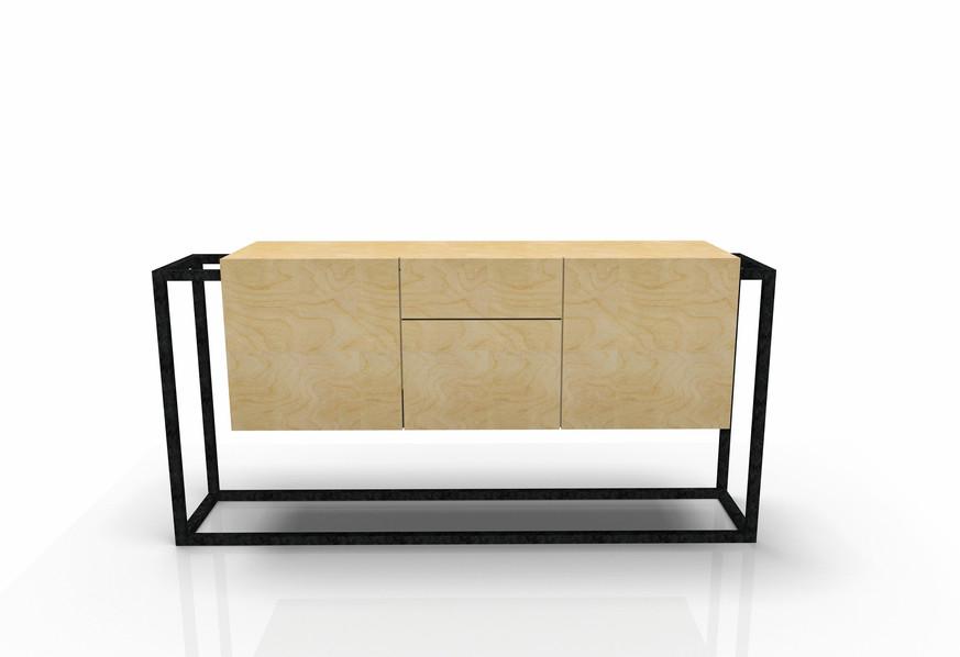 Buffet Grand Modèle W&S design by Fred Hernandez pour  #designparis