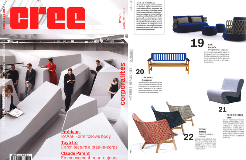 Architecture Cree Parution Fauteuil Z'In By Fred Hernandez