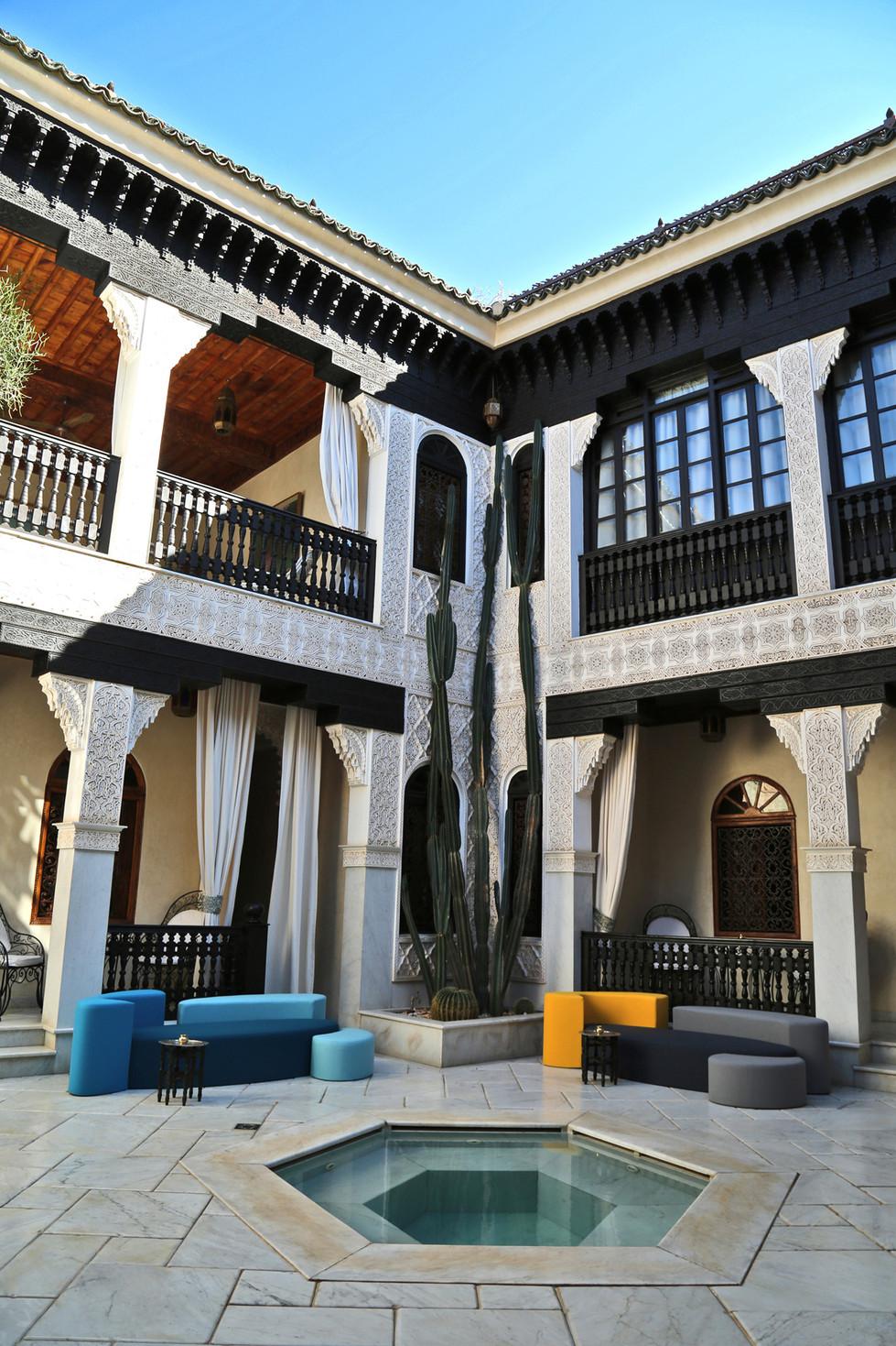 Canapés Ôze Hôtel La Sultana Marrakech   Hashtag Design Paris