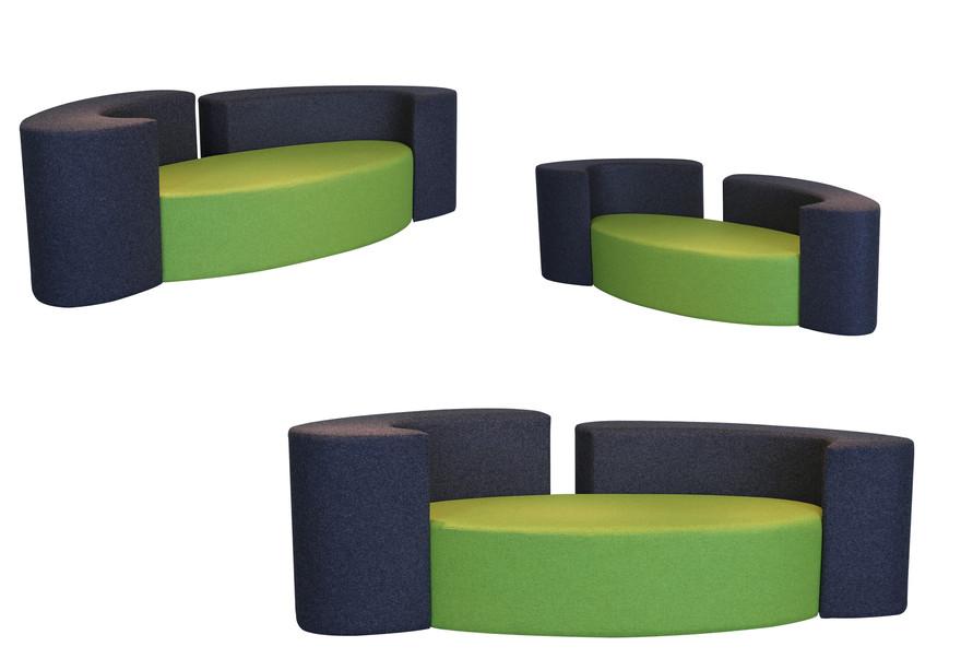 Canape Ôze 2P by Fred Hernandez  #designparis