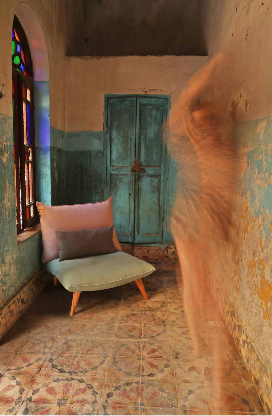 Fauteuil Bô M by Fred H pour Hashtag Design Paris