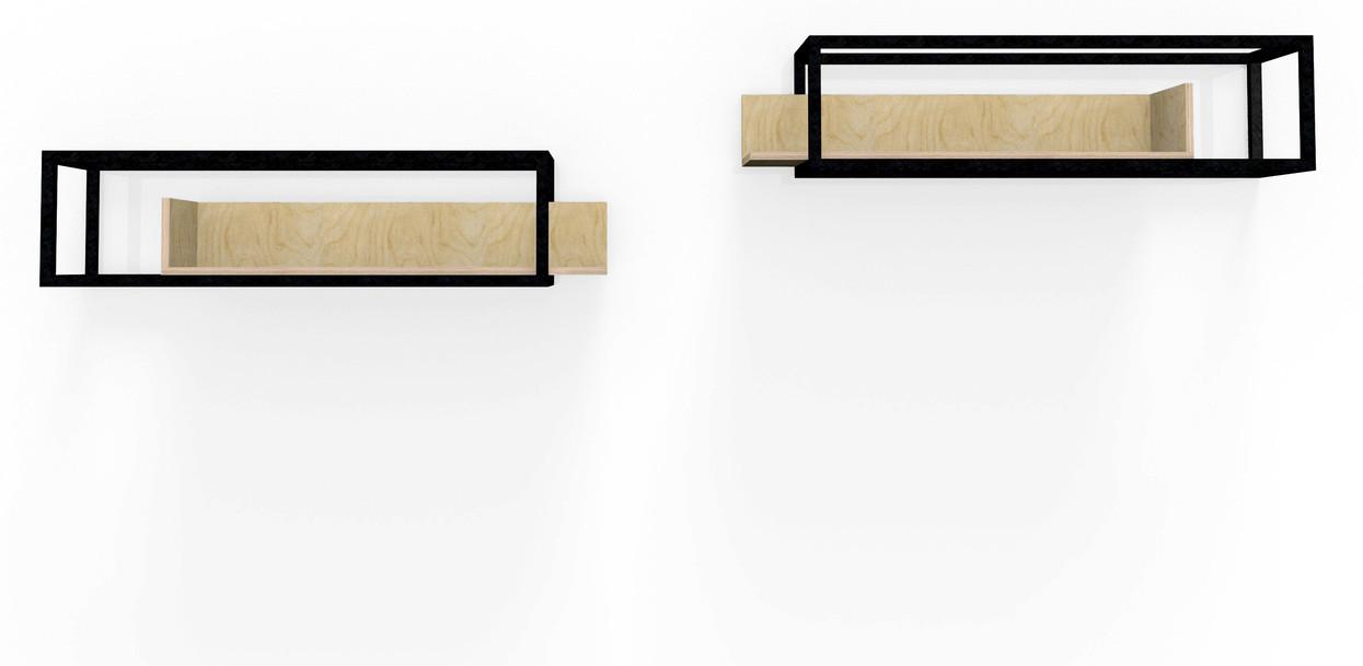 Etagères W&S design by Fred Hernandez pour Hashtag Design Paris