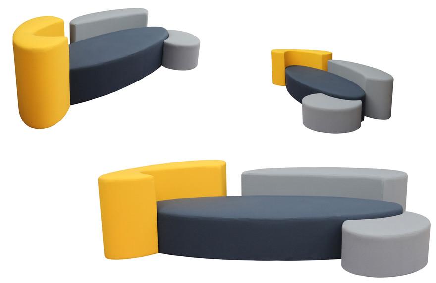 Canape Ôze 3P by Fred Hernandez #designparis