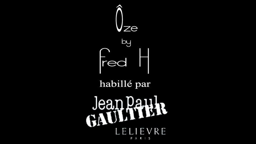 Canapé Ôze by Fred H habillé par Jean Paul Gaultier, tissus Lelièvre Paris  #designparis