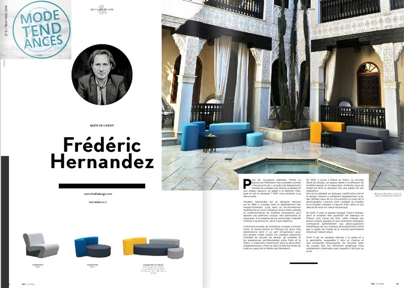 Mode & Tendances Portrait Fred Hernandez