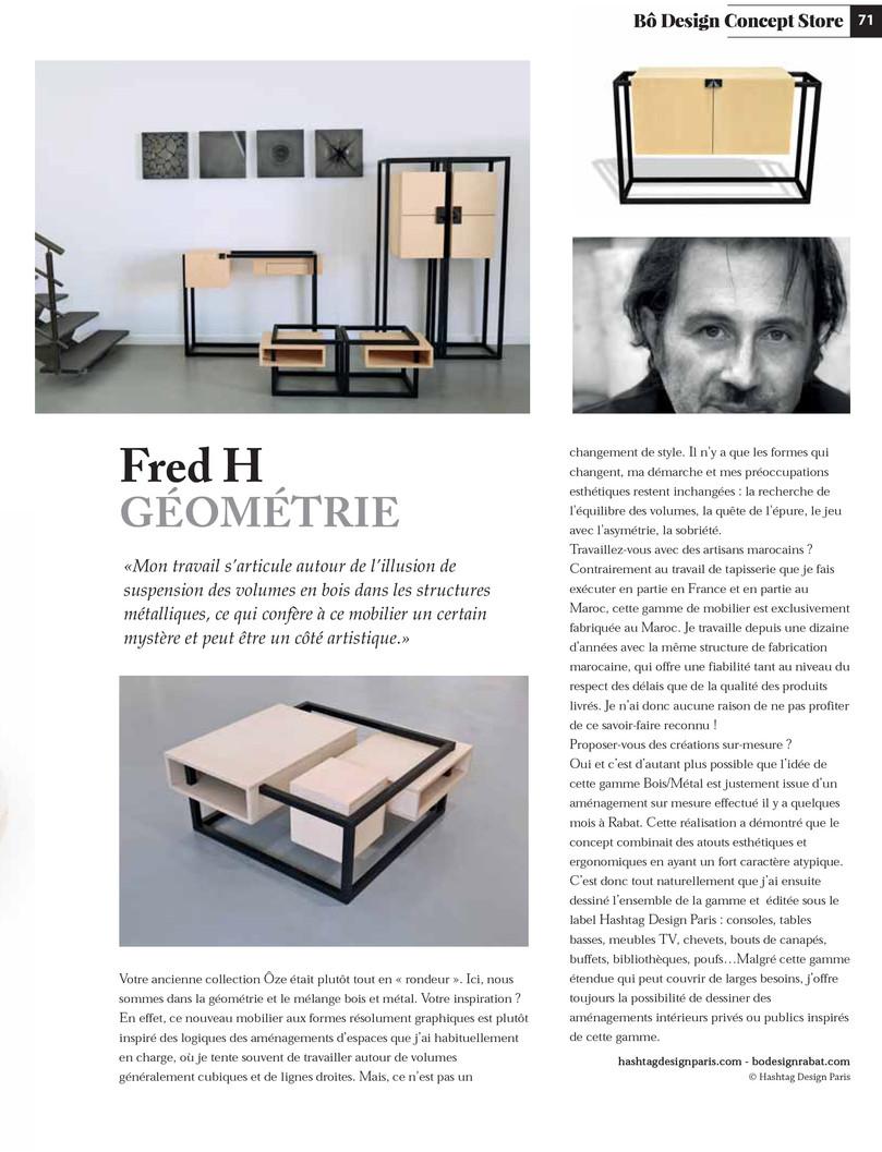 Interview Fred Hernandez Designer Mobilier