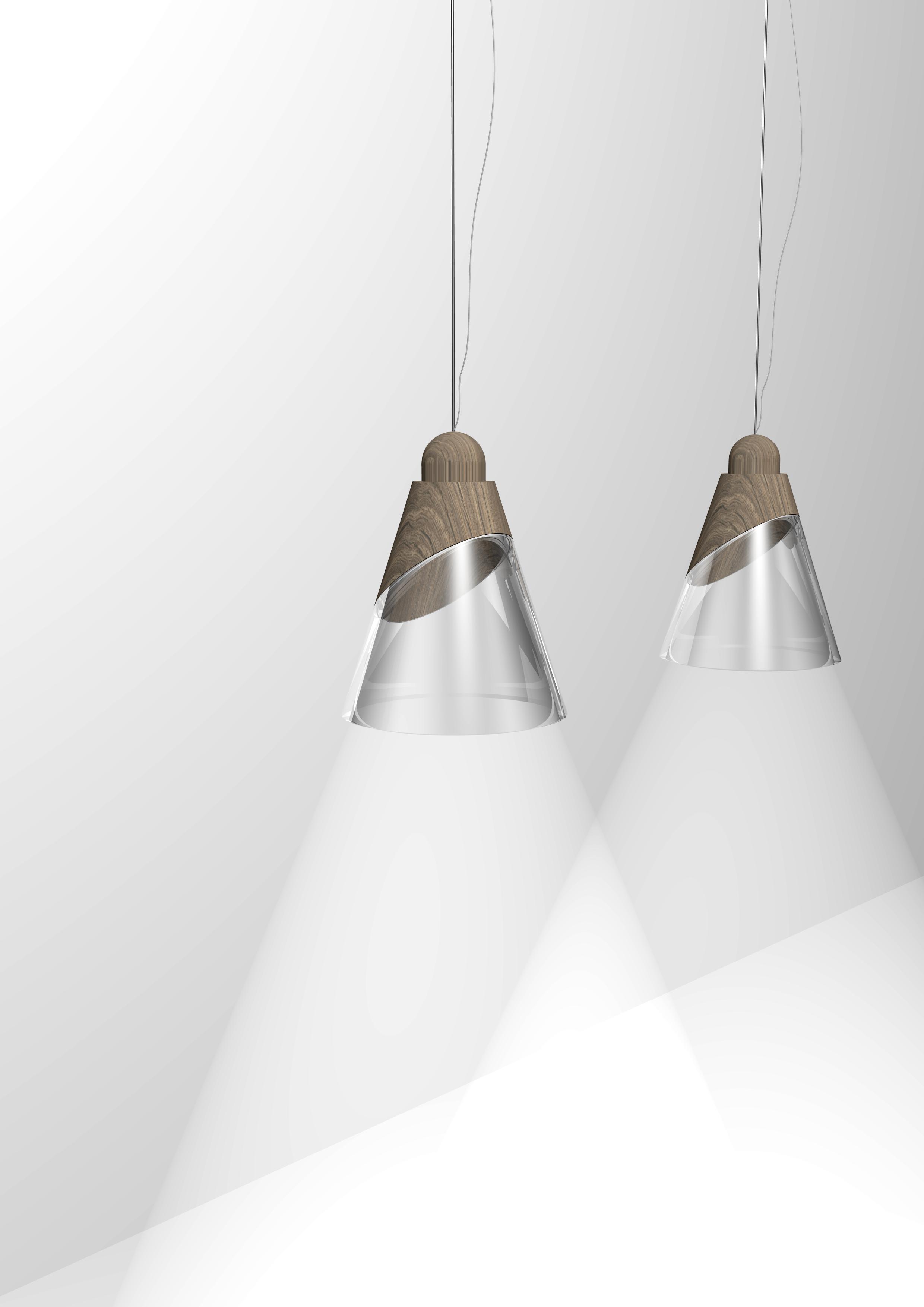 Lampade Double Materials