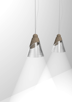 Double Materials Lamps