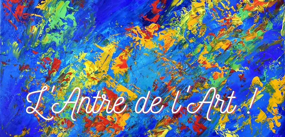 L'Antre de l'Art ! Header page boutique.