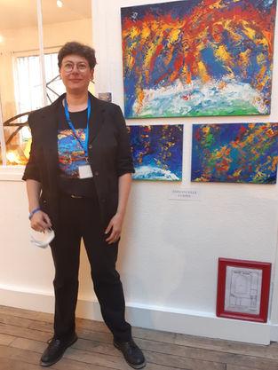 Vernissage Exposition  Art Show Emma Coffin