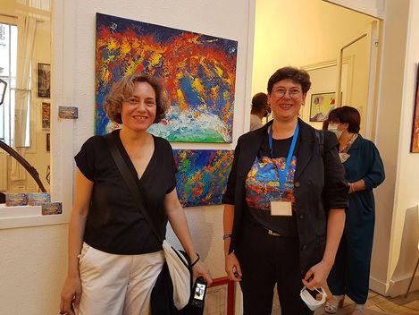 Vernissage Exposition Art Show Emma Coffin à Paris